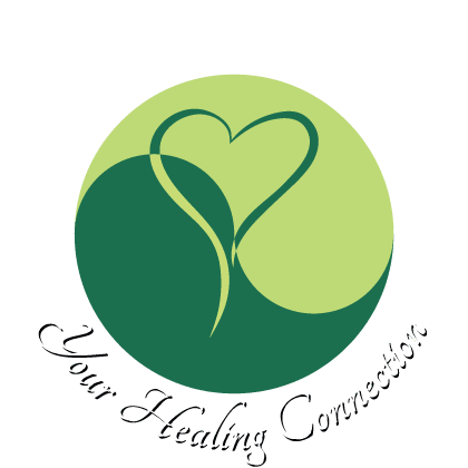 Your Healing Connection Logo White Text